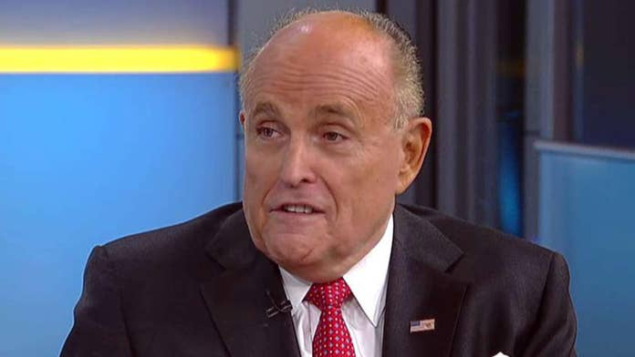 Giuliani knocks Clinton's Trump indictment claims, says old DOJ policy of 'you cannot indict a Clinton' wil...
