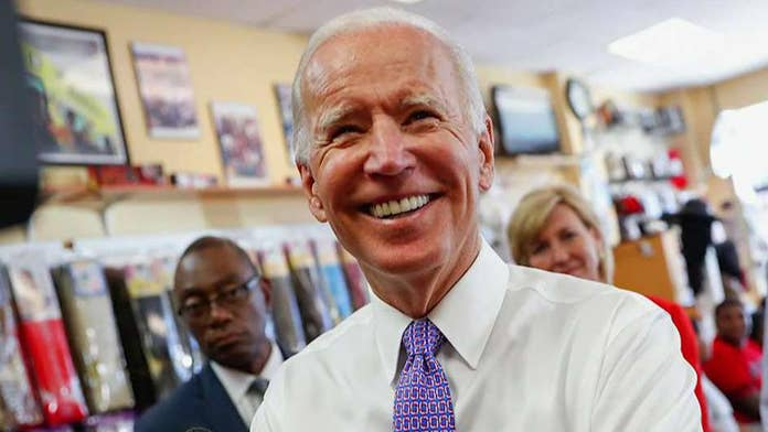 Biden's Senate records held by his alma mater won't be released until late 2019, possibly even later