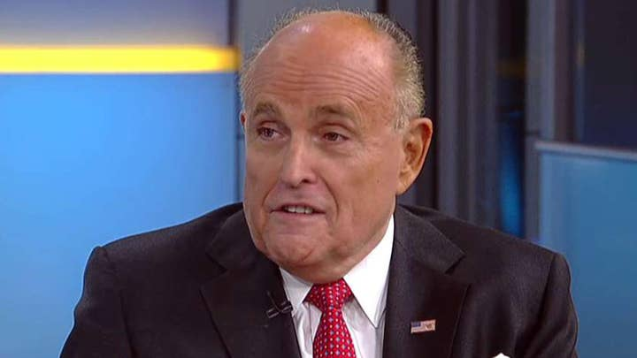 Rudy Giuliani fires back at Hillary Clinton's remarks on Mueller probe