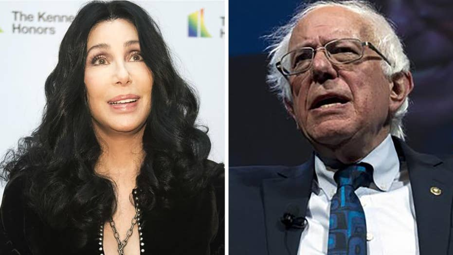 American singer, actress Cher calls out Bernie Sanders