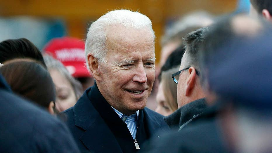 Biden tops Sanders in new Monmouth University poll on 2020 Democrat primary