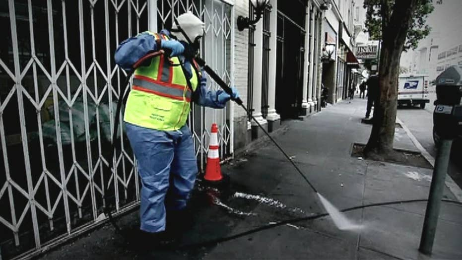 Drugs, feces in plain sight on the streets of San Francisco