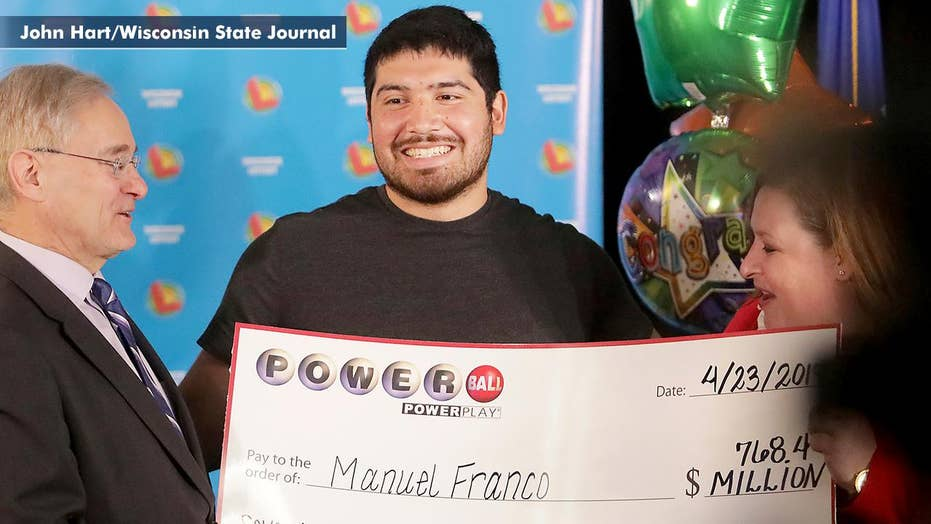 Wisconsin man wins massive Powerball jackpot