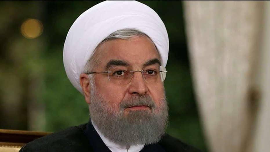 Iranian president says his nation is willing to negotiate if US apologizes and lifts pressure