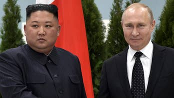 North Korea and Russia hold one-on-one meeting