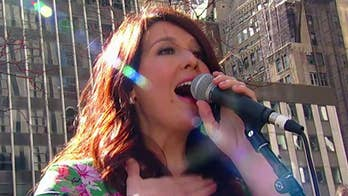Mallary Hope performs 'Me' on 'Fox & Friends'