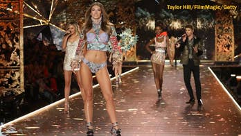 Victoria's Secret model Lorena Rae says she was a nervous wreck before walking the runway for the first time