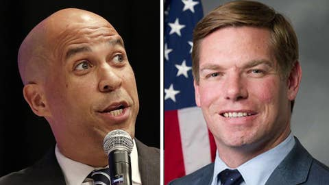 Booker, Swalwell pledge to pick women running mates if they win 2020 Dem nomination
