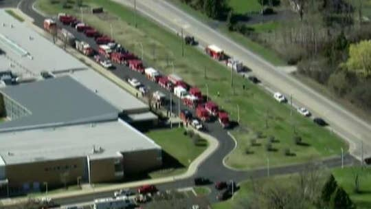 Toxic gas leak in northern Illinois sends 37 people to hospital
