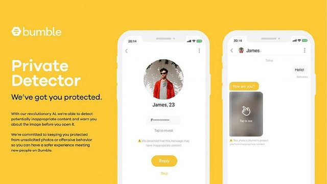 Dating app Bumble censors lewd creeps with new tool