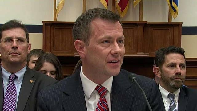 Texts between the FBI's Strzok and Page draw investigator focus