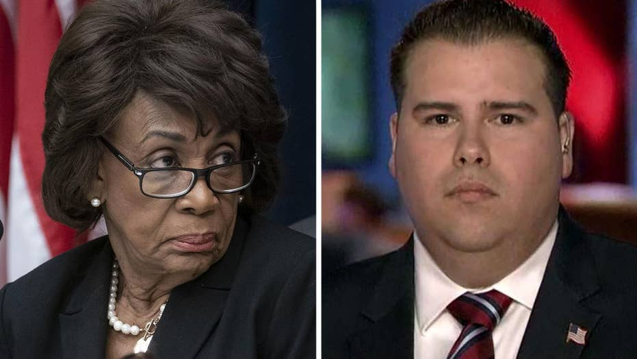 Republican running against Rep. Maxine Waters says she's the one who should be impeached.