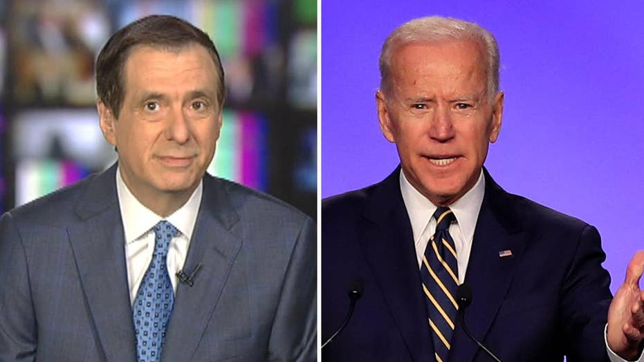 Howard Kurtz: On age, style, ideology, ex-VP Biden drawing negative coverage