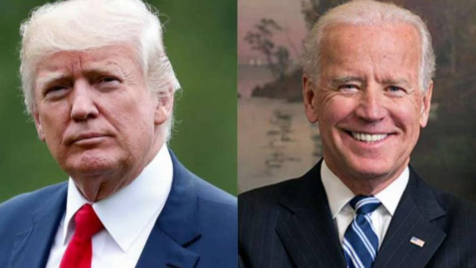 President Trump welcomes Joe Biden to 2020 race with barbed tweet