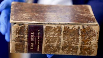 400-year-old Pilgrims Bible stolen from US as part of $8M heist returns home: FBI