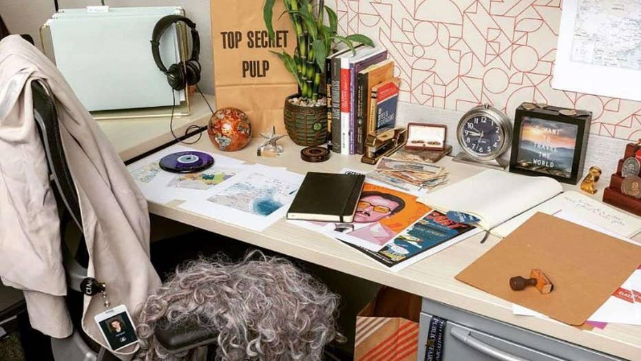 CIA joins Instagram with a staged photo of Haspel's desk