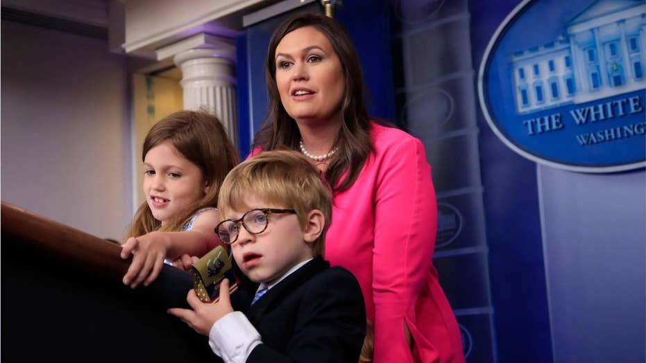 Washington Post media critic uses 'Bring Your Child to Work' day to bash Sarah Sanders