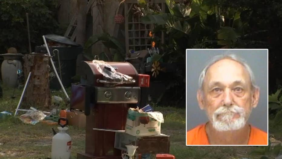 Florida man arrested after disabled, bedridden woman in his care was discovered living among trash and feces