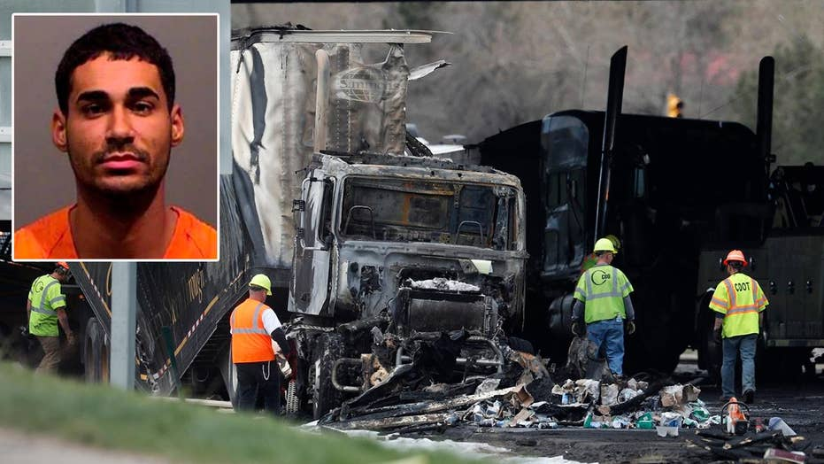 Driver in deadly Colorado 28-car-pileup charged with vehicular homicide