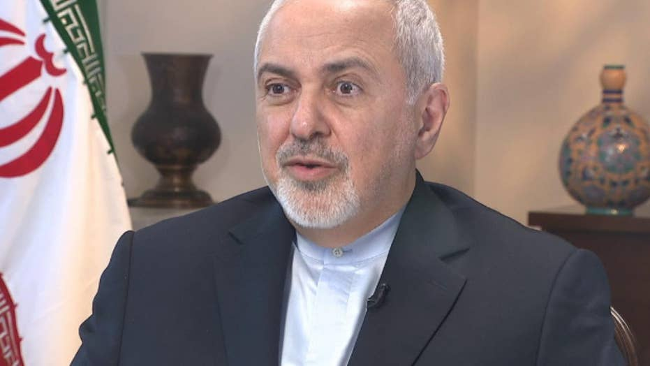 Iran's Foreign Minister Zarif says a group of US and Mideast officials are trying to drag the US into conflict with Iran