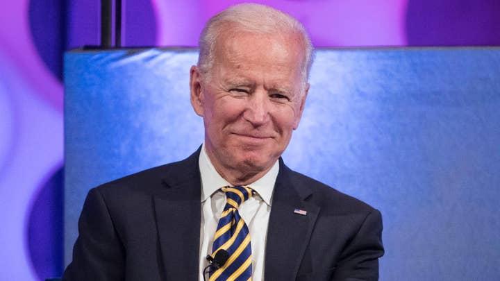 Joe Biden launches his third presidential bid