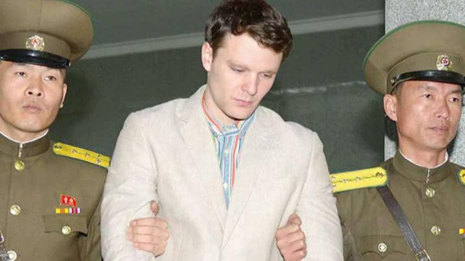 President Trump insists that a US did not compensate North Korea for Otto Warmbier's return