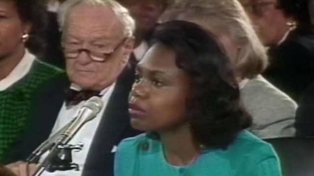 Anita Hill grabs spotlight