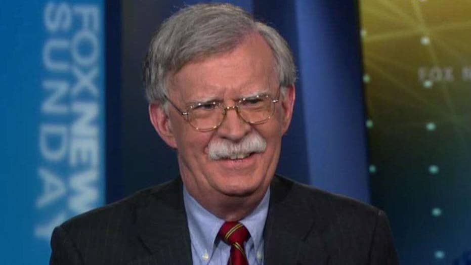 John Bolton reacts to accusations from Iran's foreign minister