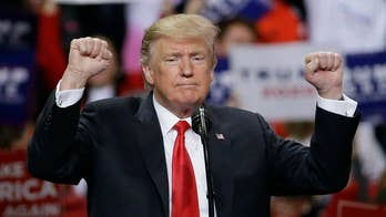 President Trump holds rally in lieu of attending White House Correspondents' Dinner