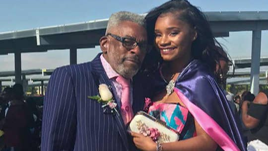 Teen without prom date gets escort from grandpa wearing matching suit
