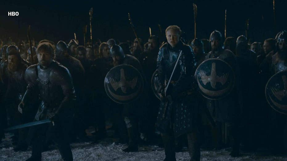 'Game Of Thrones' fans gripe about lighting during epic episode