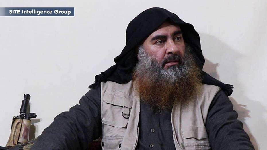 ISIS leader al-Baghdadi pictur...