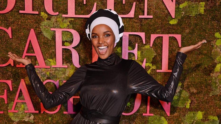 Model Halima Aden breaks barriers in Sports Illustrated Swimsuit issue