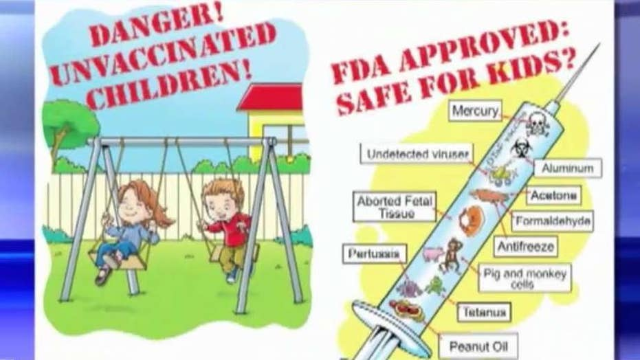 CDC says record outbreak fueled by anti-vaxxer propaganda