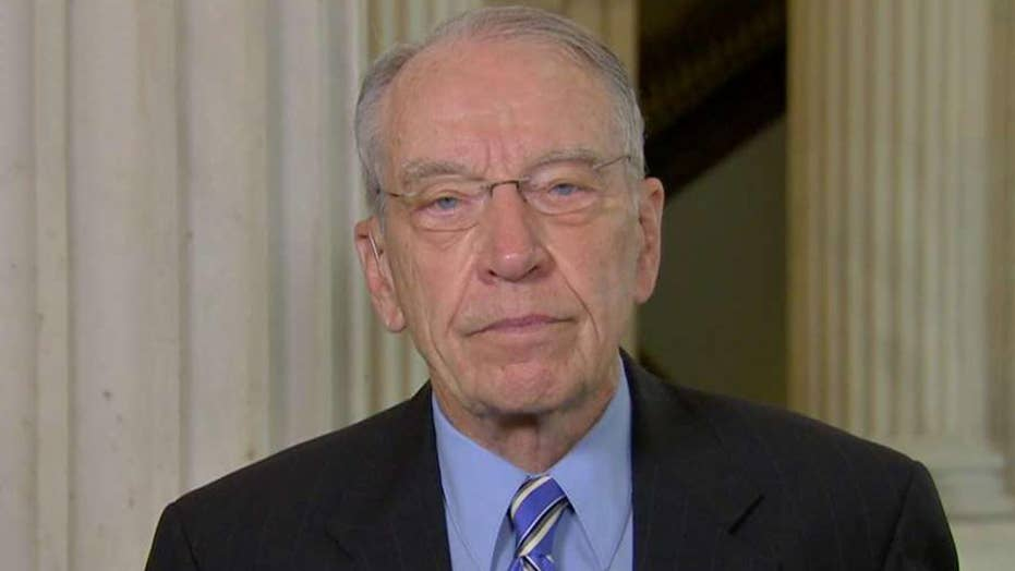 Sen. Grassley: Trump is close to victory on trade deals and I want to help