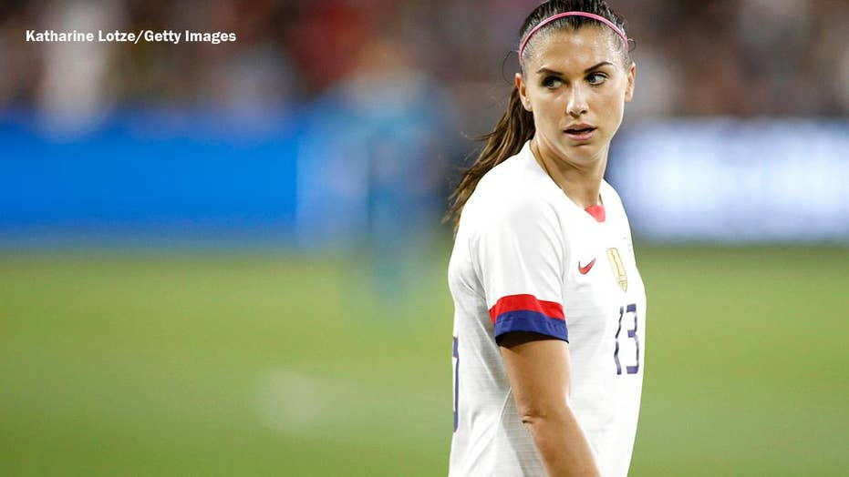 US women's soccer star Alex Mo...