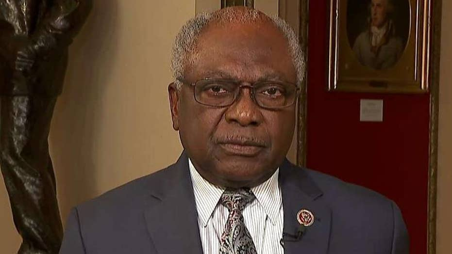 Rep. Clyburn: I don't support sending US military to Venezuela at this time