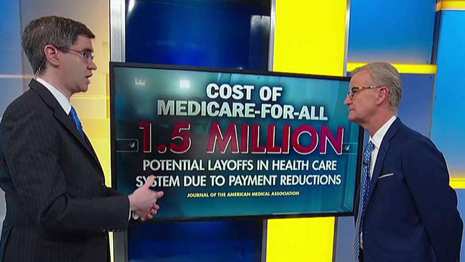 Democrats' single-payer health care bill raises serious cost questions: Chris Jacobs