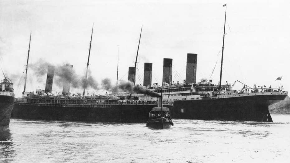 Google Maps coordinates reveal the exact spot where Titanic sank in 1912