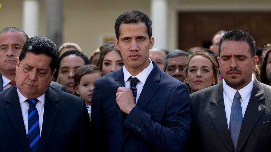 Is momentum shifting to legitimize Juan Guaidó as the president of Venezuela?