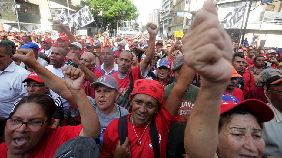 Second day of violent protests in Venezuela