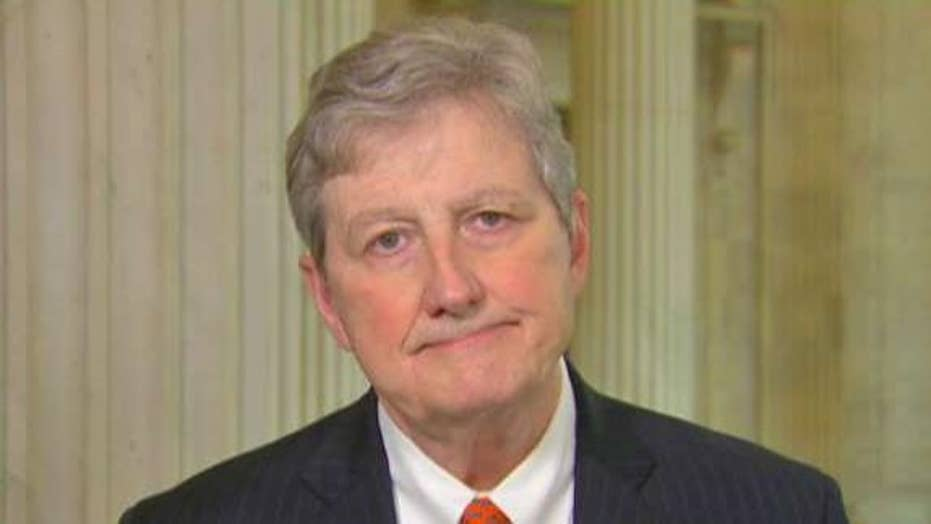 Sen. John Kennedy is not surprised Mueller's letter was released prior to AG Bill Barr's testimony