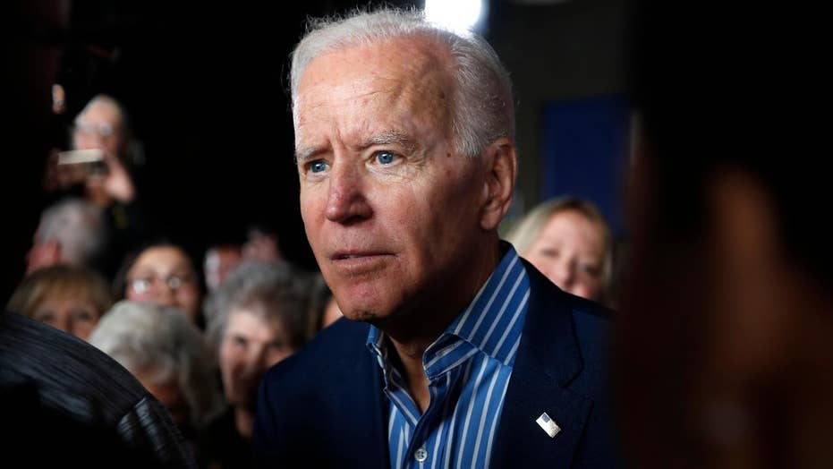 Joe Biden campaigns in Iowa amid rise in polls