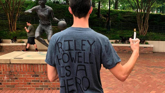 UNCC student who tackled gunman, saved lives is honored at vigil