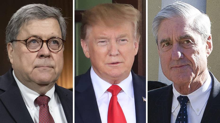 White House letter to Barr critical of Mueller report for not deciding whether Trump