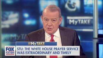 Stuart Varney: Trump doesn't wear his religion on his sleeve, National Day of Prayer ceremony was a revelation