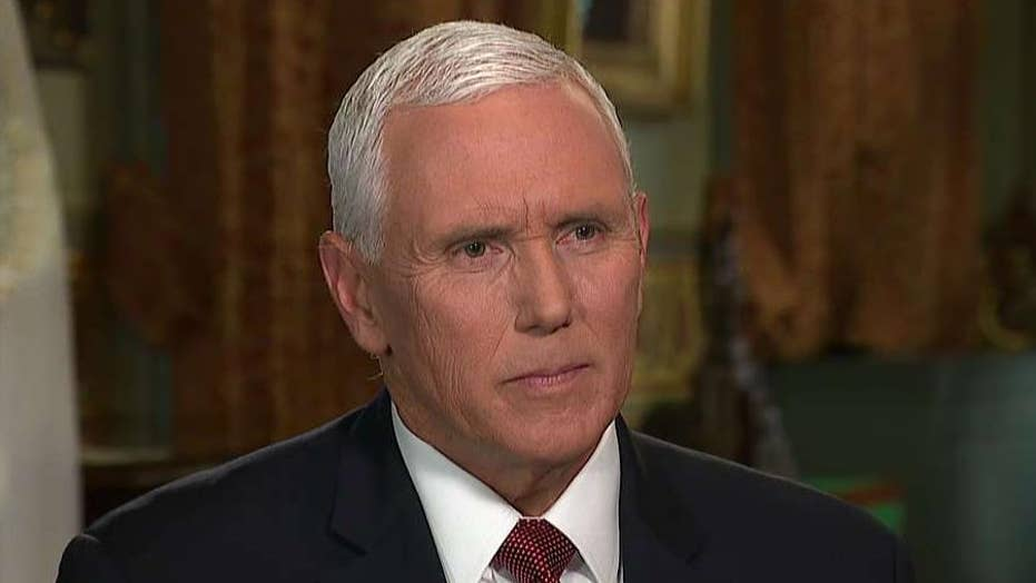 Mike Pence says the agenda President Trump ran on is working for every American