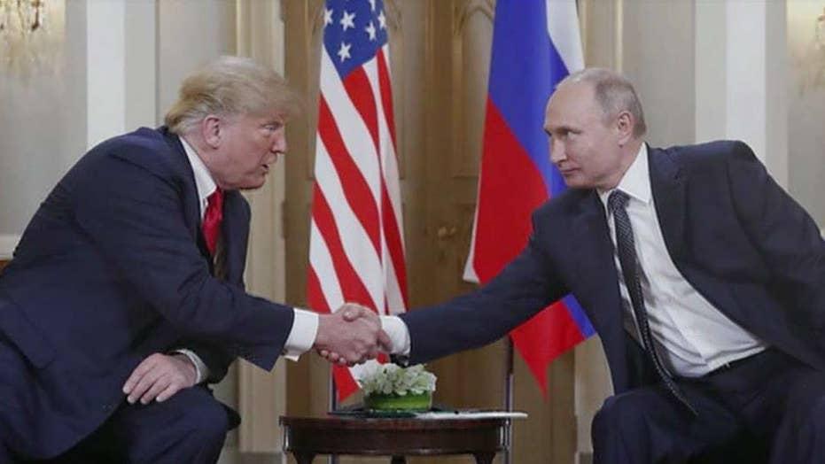President Trump discusses Venezuela, Mueller report with Vladimir Putin