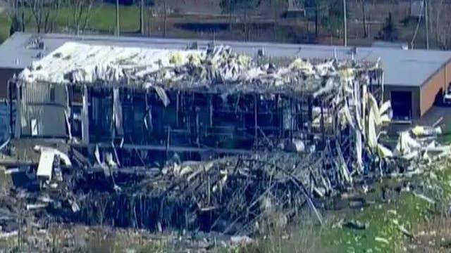 Three presumed dead in Illinois plant explosion