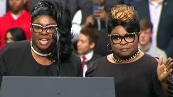 Diamond and Silk rally Trump supporters in Green Bay